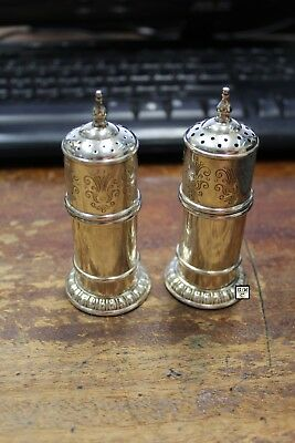 Sterling Silver Salt & Pepper Shaker , Wt - 97gm (OOAK)