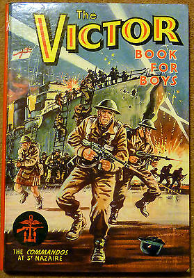 Vintage First Victor Annual 1964 Book For Boys In Near Mint Condition Unclipped