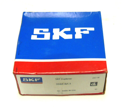 New Skf 3310 A/c3 Bearing Double Row 110Mm X 50Mm 1-3/4In-Width
