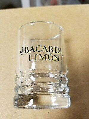 12 new Ron Bacardi Limon 1998 Oval Shot Glasses in box