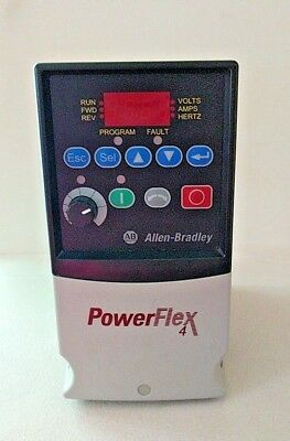 Allen Bradley Power Flex 4 Cat: 22A-D2P3N104 1HP AC Drive 480 volt Powerflex