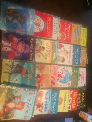 Little Golden Book Lot 1970's 36 Books Personal Collection