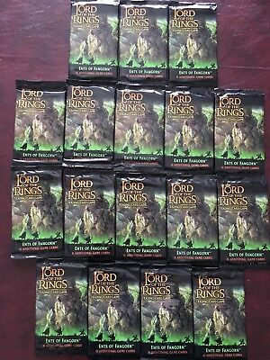 Lot of 17 Sealed Ents of Fangorn Lord of the Rings (LotR) TCG/CCG Booster Packs