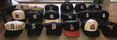 pretty nice 1542b fe7d2 Lot Of Vintage MLB Caps New Era Roman Cap American Needle Cooperstown  Collection