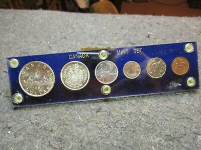Vintage Coins/1960 Canada Proof-Like Set/1960 6 Coin Set-Bu Uncirculated/great!