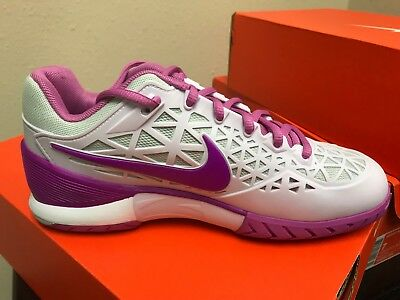 1d3c76cae279 NIKE WOMEN S ZOOM Cage 2 Tennis Shoe Style  705260 550 -  84.99 ...