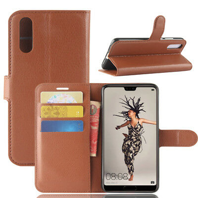 For Huawei Ascend P20 Pro/Lite Flip Magnetic PU Leather Wallet Case Cover Stand
