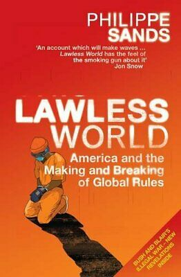 Lawless World by Sands, Philippe Paperback Book The Cheap Fast Free Post