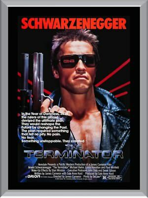 The Terminator A1 To A4 Size Poster Prints