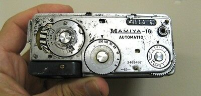 Vintage Mamiya 16 Automatic Spy Film Camera