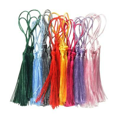 30 Pcs Assorted Colors Chinese Knot Tassels Classic DIY Craft Accessory,Tags