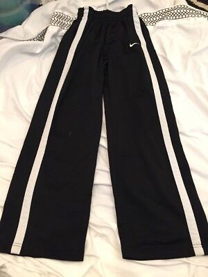 Nike Large Youth / Boys (14-16) Black  Athletic Track Pants. Free Shipping