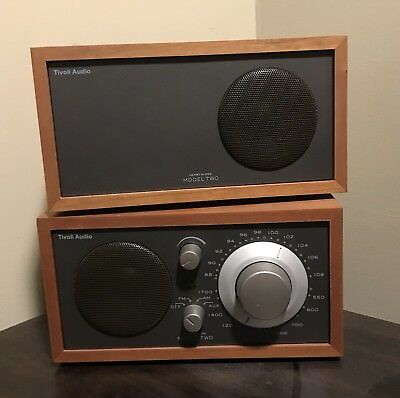 Tivoli Audio Henry Kloss Model Two 2 AM/FM Radio with Companion Stereo Speaker
