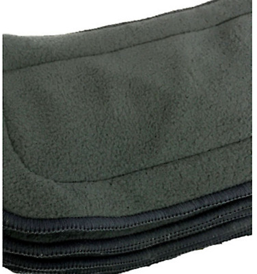 5 x 5-layer Reusable Bamboo Charcoal Inserts / Liners for Modern Cloth Nappies
