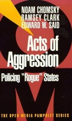 Acts of Aggression: Policing Rogue States (Open ... by Said, Edward W. Paperback