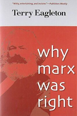 Why Marx Was Right by Eagleton, Terry Book The Cheap Fast Free Post