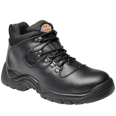 Dickies Fury Super Safety Hiker Boots Steel Toe Cap & Midsole Work (FA23380A)