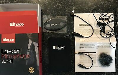 Brand new and unused lavalier microphone BLM-10