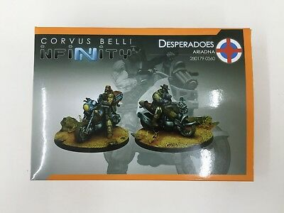 Corvus Belli Infinity Ariadna Desperadoes 280179-0560 New In Box