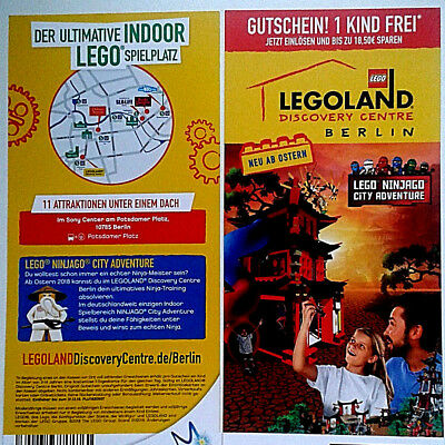 2in1 eintritts gutschein legoland berlin 1 person bezahlt 1 kind gratis eur 1 10 picclick de. Black Bedroom Furniture Sets. Home Design Ideas