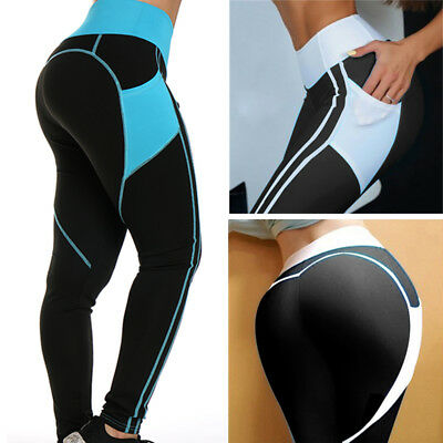 Fashion Women's Compression Fitness Leggings Running Yoga Gym Pants Workout M529