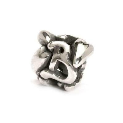 Trollbeads original authentic LETTERA B -   TAGBE-10061