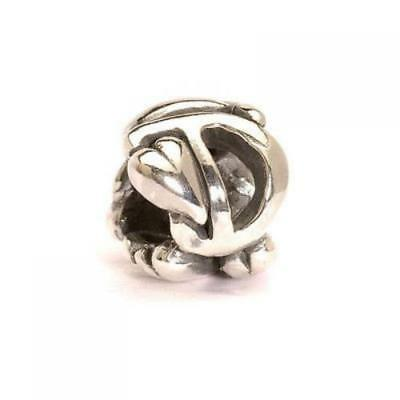 Trollbeads original authentic LETTERA D -   TAGBE-10063