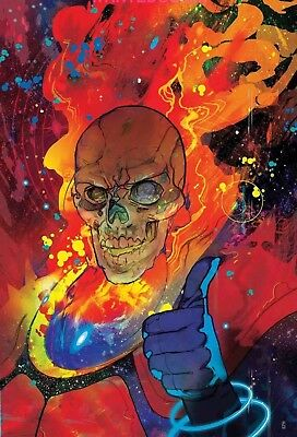 Thanos #17 Ward Variant Cover Cosmic Ghost Rider Silver Surfer Sold Out New 1 Nm