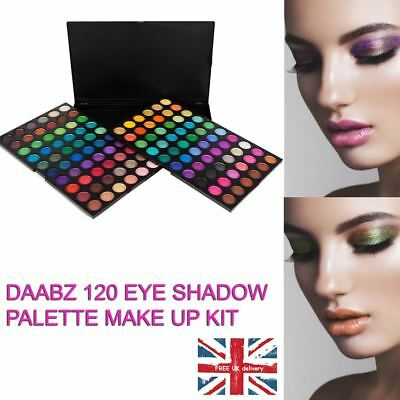 Colours Eyeshadow Palette Makeup Kit Set 120 Colors by Daabz
