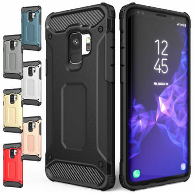 Samsung Galaxy S8 S8 Plus Heavy Duty Armour Shock Proof Builders Hard Case Cover