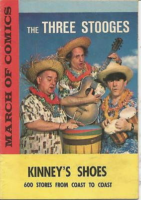 March Of Comics #248 The Three Stooges 1963 Fn Kinney's Shoes