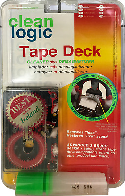 Audio Cassette Cleaner & Demagnetizer- By Clean Logic in Ireland