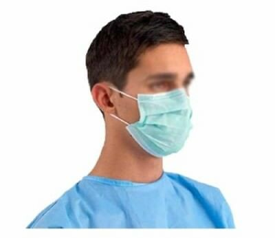 DISPOSABLE SURGICAL FACE SALON DUST CLEANING Ear Loop Flu Medical MASK