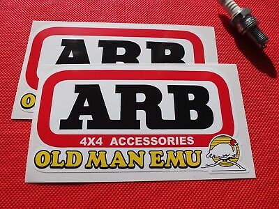 Pair of ARB old man emu stickers
