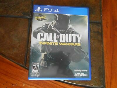 PS4 Call of Duty Infinite Warfare Video Game - Disc In Good Condition