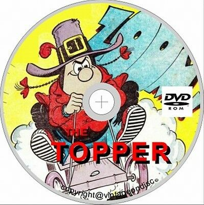 The Topper 452 Assorted Issues On Dvd Rom