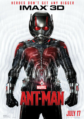 Ant Man Poster Print Borderless Glossy Vibrant Stunning A1 A2 A3 A4