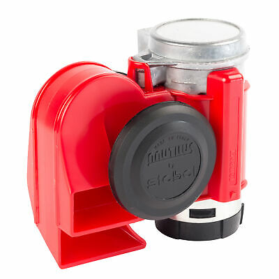 Stebel Hupe NAUTILUS COMPACT RED  12V  Signalhorn / Hupe