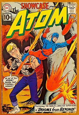 Showcase #35 Featureing The Atom Key Silver-Age Comic