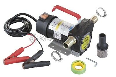 Diesel Fuel Transfer Pump Dc 12V Mineral Oil Fluid Electric Extractor Fervi 0755