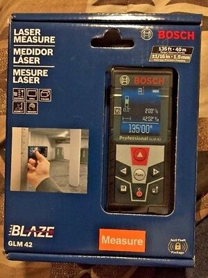 Bosch GLM 42 Laser Measure  NEW