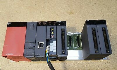 Mitsubishi Q61P Power Supply With Rack