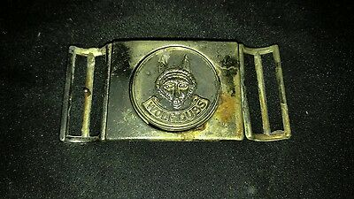 Vintage Boy Scouts of Canada Wolf Cubs Belt Buckle