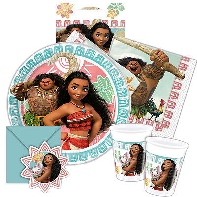 Disney MOANA Official Birthday PARTY RANGE Princess Tableware  Decorations {1C}