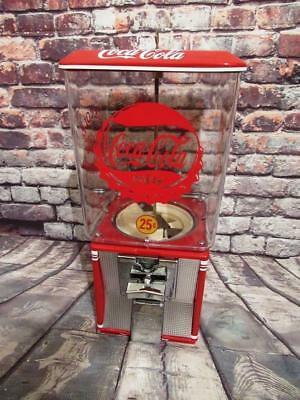 Coke memorabilia Coca cola vintage gumball machine candy machine  25 vending