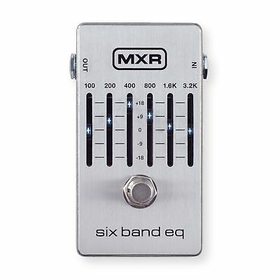 MXR M109S Six Band EQ Pedal *Free Patch Cable*