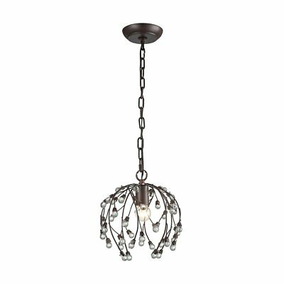 Sterling Industries D3407 Oberon - One Light Pendant, Oil Rubbed Bronze Finish
