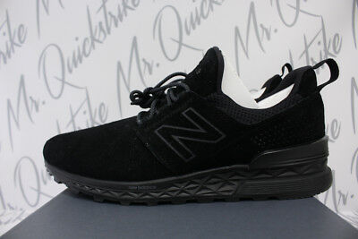 NEW BALANCE 574 Sport Sz 8.5 Fresh Foam Triple Black 574S