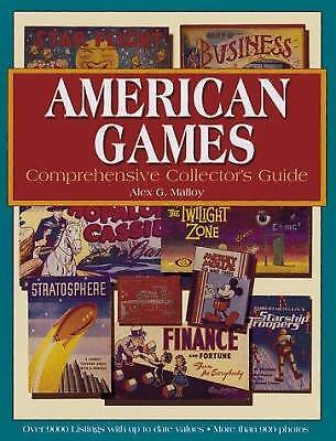 The American Games : Comprehensive Collector's Guide by Alex G. Malloy