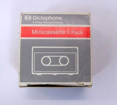 Dictaphone Mini Cassette tapes - 5 pack NEW